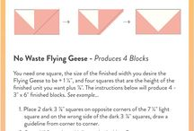 Flying Geese Tips