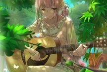 guitar kawaii