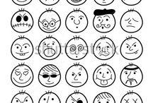 Cartoon faces