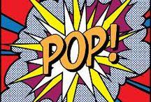 pop art / colour fun and vintage