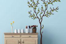 Home decoration / vinilos y murales para el hogar