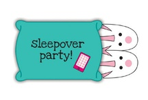 Sleepover / Slumber / Spa Party / by Sisters in Wonderland