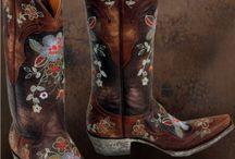 Cowboy ... boots ... Yeah! / Cowboy boots I'd like to wear! :) / by Carla Walton