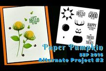 Paper pumpkin alternatives