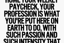 Quotes - profession and calling