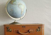Vintage Travel Engagement