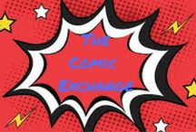 The Comic Exchange / A Place for sellers of all types of comics.  You can list from your website, e-commerce store, auction site or direct, if selling direct please include in description price, and postage costs. All deals are between seller and buyer, this is a place for you to advertise your comics or manga.  If comic or auction url no longer available please delete the pin.  To pin here just follow the board.  COMICS ONLY anything else will get deleted.   Followers can invite others.
