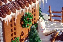 Gingerbread house fantasy project!!! / by Eva Lagudi-Devereux