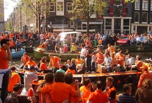 Amsterdam, Holland / Visited Amsterdam this year and partied with the whole city on Queens day, was a blast!!