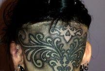 tatto head
