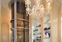 closet design / Closet Ideas and Inspiration