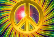 PEACE. Hippies.