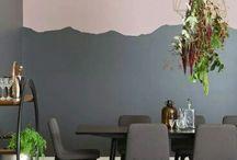 Tinta muri bicolore