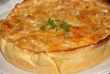 TARTES, QUICHES, TOURTES, CLAFOUTIS SALES, PIZZAS