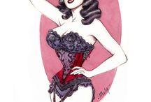 ♥ Vintage Burlesque ♥
