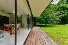Terasa domu - desky  / beton