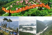 Most beautiful 7 hill stations of India / The hills have been successful in holding up the century-old traditions and cultures that have prospered the lives of the people in Incredible India. India is dotted with the awe-inspiring hills all over the country starting right up from Jammu and Kashmir to Tamil Nadu, encapsulating over 20 mountain ranges. Here's a list of top 7 hill stations of India.