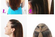 hair hacks / by Meagan Carr