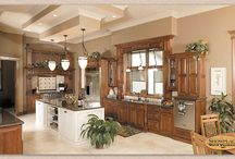 Luxury Model Home - Showplace Cabinets / Hamilton and Covington Door Styles