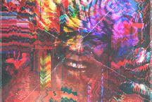 Nelson Mandela / Arte série /// Metamorfose