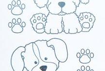 desenhos de cachorros