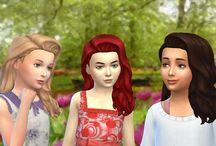 My The Sims 4 CC Hair (Children)