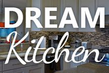 Dream Kitchen / Hardware, built-ins, counters, appliances... there are so many ways to make your kitchen amazing and unique!