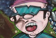 STREET ART / Graffitis art Pays Basque