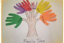 My family / Crafts about each child's family member and activities for school