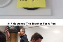 Funny teachers