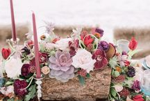 Wedding | Floral Centerpieces / Wedding centerpieces are the focal point for your table and bring your table to life!