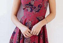 Clothing inspiration / Cute dresses