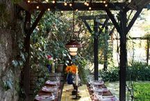 Backyard living / Ideas for the backyard  / by Lois Zacharopoulos