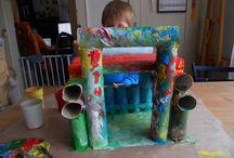 tvorba pro děti někdy i s dětmi / recyklujeme co se dá