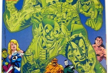 Fantastic Four / http://tinyurl.com/ebaymadandcracked / by Jean De La Garza