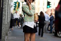 if i were a fashionista / by Bridget S