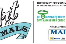fundraisers / Pet Community Center and other animal welfare fundraisers, and ideas for them.