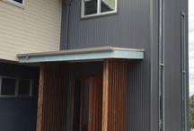 Roof/gutter colour