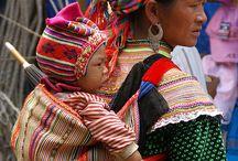 Vietnam's Flower Hmong, Black Phu La, Nung Ing, Thu Lao