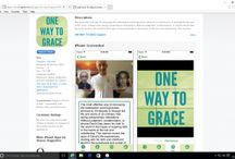 One Way to Grace Apps / One Way to Grace is now as a Free download on Apple & Android devices, iPhone,iPad,Tablet,TV   One Way to Grace  itunes Apple app  Your app is now live on Apple itunes https://itunes.apple.com/gb/app/one-way-to-grace/id1078615778?mt=8        One Way to Grace googleplaystore app  Your app is now live on Google Play https://play.google.com/store/apps/details?id=com.OneWayToGraceA67
