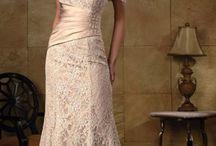 evening long dress beading