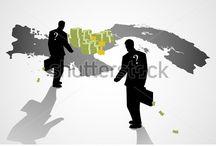 Business Theme Illustration / Vector - cartoon illustration for business theme and concept