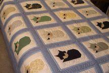 cats quilt / miau