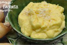 Acompanhamentos / Soufle, batata rosti, batata assada, purê, torre de berinjela, ratatouille de legumes, pimentão assado, ovos recheados, cuscuz marroquino, purê de cenoura