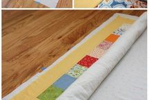 basting  quilts