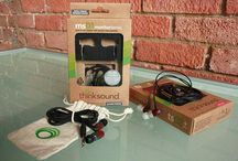 Thinksound / Green in-ears for sounder sound.