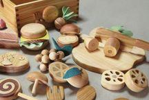 de fusta menjar