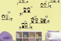 Childrens Wall Decal Designs