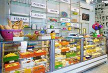 Супермаркеты, магазины и т д
