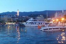 Crikvenica / Crikvenica, ein beliebter Urlaubsort in der Region Kvarner, Kroatien